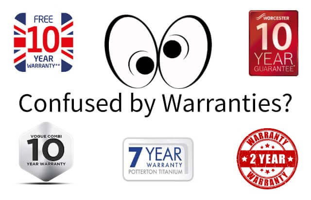 Boiler manufactures ​now offer longer Boiler Warranties