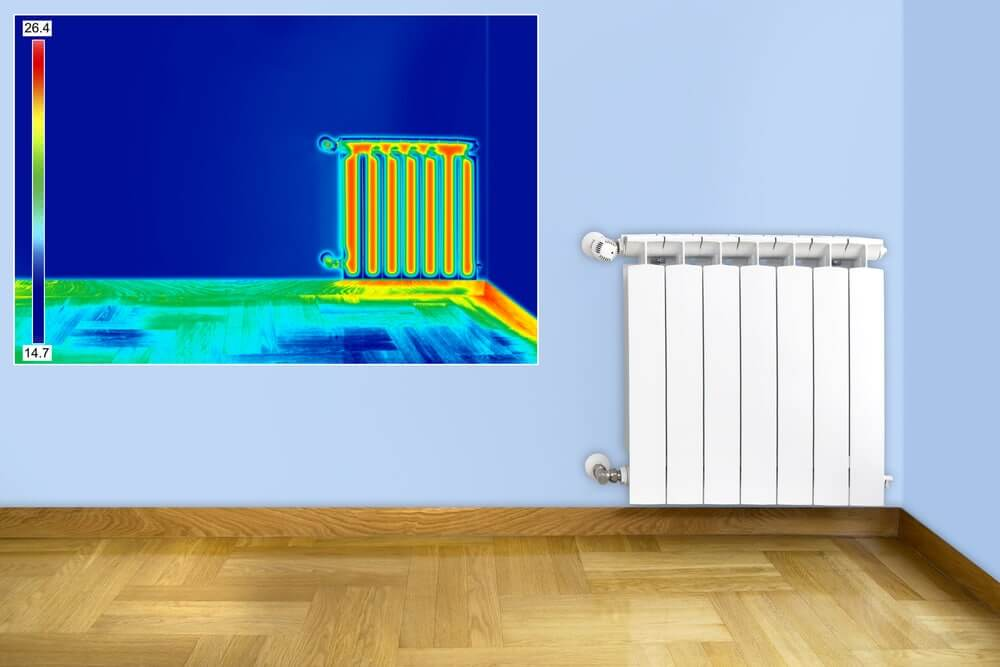 Leaking Central Heating Pipes Detection Using A Thermal Camera