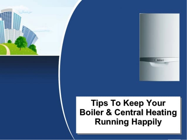 Tips To Keep Your Boiler Working