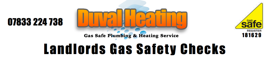 Landlords Gas Safety Inspections